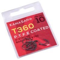 Amo Kamasan T360 PTFE Coated X-Strong Barbless
