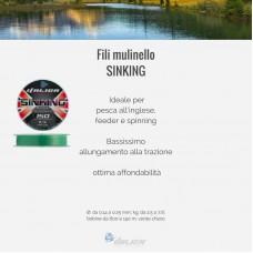 Sinking Italica 600m