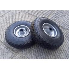 Ruote per Traino con cuscinetti e cerchio metallo